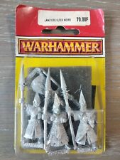 Lanciers Elfes Noirs Blister Warhammer Battle Aos Neuf 1995 Oop