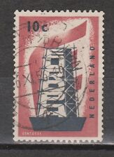 NVPH Netherlands Nederland 681 TOP CANCEL ALPHEN a/d RIJN Europa zegel 1956