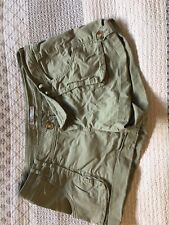 Womens Cargo Shorts Hot Options Size 10
