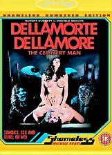 DELLAMORTE DELLAMORE BLU RAY💀AUDIO ITALIANO M.SOAVI🟡INTEGRALE!edizioneNUMERATA