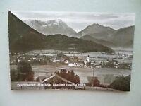 Ansichtskarte Ohlstadt Bay. Alpen mit Zugspitze 50/60er??