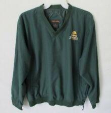 Tres Bien Stone Ridge Golf Club green pullover v-neck windbreaker jacket *Sz Xl*
