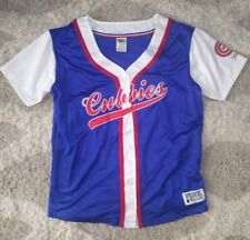 new VICTORIA'S SECRET PINK CHICAGO CUBBIES MLB jersey shirt XS S