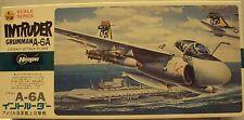 Hasegawa 1/72 Grumman A-6A Intruder US Navy Attack Bomber Vietnam Kit #E6 Nice