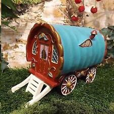 Vivid Arts Miniature World Red Gypsy Caravan Enchanted Collectable Scaled Cute