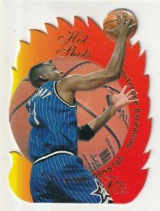 anfernee hardaway 1996-97 flair showcase hot shots die cut #4 magic