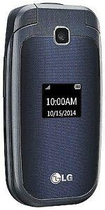 LG 450 - Black (T-Mobile) Cellular Phone