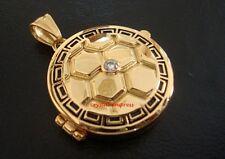 Feng Shui - Tortoise Chakra Talisman Locket for Ox, Dragon, Sheep & Dog