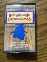 Hank Williams Jr Country Classics Cassette Tape 1987 The Special Music Company