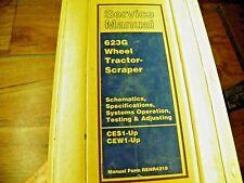 Cat Caterpillar 623G Tractor Scraper Service Manual Ces Cew Spec,Testing Adjust