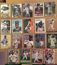 MO VAUGHN 19 Baseball Card Lot BOSTON RED SOX NM/M Condition Includes Rookie L3
