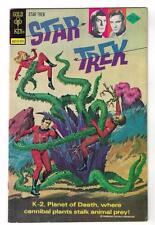 STAR TREK 29 COMIC Advert back VARIANT Mid Grade Spock  5.5 rare GOLD KEY 1975