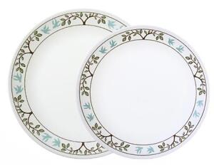 """1 Corelle TREE BIRD Choose: 10 1/4"""" DINNER or 8 1/2"""" LUNCH Plate *Nature Blue"""