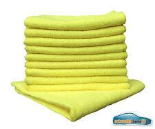 Micro Fibre foulards chiffon à lustrer Chiffon glastuch 40x40cm 20x jaune