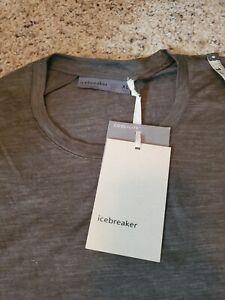 Icebreaker Merino Wool Cool-Lite Sphere SS Crew Shirt. Size XL