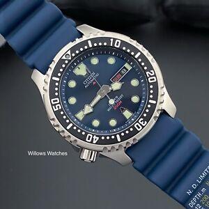 Citizen Promaster Automatic Mens 200m Divers Watch NY0040-17LE Caliber 8203