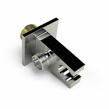 """Chrome Wall Diverter with Holder for Concealed Shower - inlet outlet G 1/2"""" BSPP"""