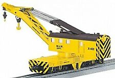 Lionel 6-81885 O Maintenance of Way Legacy Command Control Scale Crane Car LN