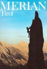 Merian Tirol Reiseführer Heft 4 / 1989 Jahrgang 42 Welt Reise Zeitschrift