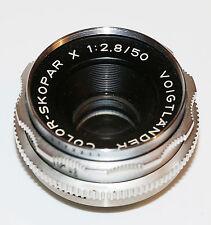 Voigtländer Color-Skopar 2.8 / 50 mm , für Bessamatic / Ultramatic