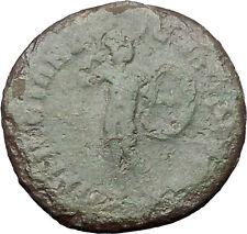 ELAGABALUS Perinthus in Thrace Rare Ancient Roman Coin Mars Ares War God  i48542