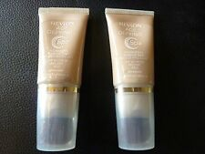 Revlon Age Defying SPA Foundation / Makeup - LIGHT  #003 - TWO New / Sealed