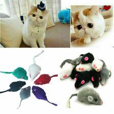 New listing Fur False Mouse Pet Kitten Cat Toy Mini Funny Playing 5Cm X9L6 Toys C1A5 P6N5