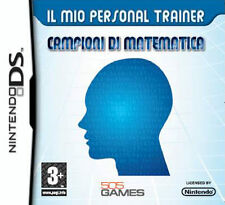 Il Mio Personal Trainer Campioni Di Matematica Nintendo DS IT IMPORT 505 GAMES