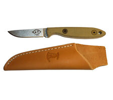 Esee Cody Rowen Knife Leather Sheath Camp Lore Bird and Trout