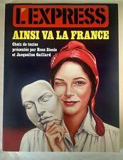 L'Express:Ainsi Va La France (French Edition) Ross Steele et Jacqueline Gaillard