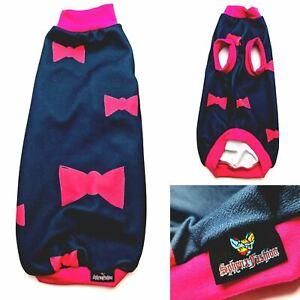 Pink Bow - Sphynx Cat Top, Devon Rex, Peterbald, Pet Cat Clothes