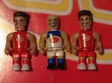AFL Micro Figures - Gold Coast Suns 3 Pack : Rare Ablett, Swallow & O'Meara