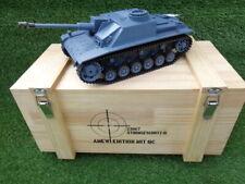 RC Panzer Sturmgeschütz III 1:16 V7.0 neuestes Modell Jetzt mit Kettenspanner