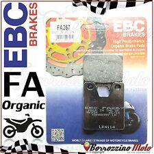 PASTIGLIE FRENO POSTERIORE ORGANIC EBC FA267 YAMAHA YZF 1000 R1 2000 2001
