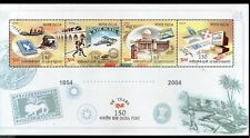 India 2004 India Post Stamp on Stamp Bridge Airmail Sc 2078e / SG 2228 M/s MNH