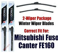 Wipers 2-Pack Premium fit 2019 Mitsubishi Fuso Canter FE160 - 35200x2