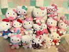Hello Kitty Plush Stuffed Doll LOT OF 16 Ty Sanrio ~ Halloween, Bunny, Mermaid +