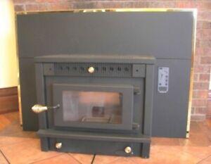 HIGH TECHNOLOGY FIREPLACE INSERT CORN WOOD PELLET STOVE, has ASH DRAWER