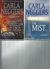CARLA NEGGERS - ON FIRE - A LOT OF 2 BOOKS