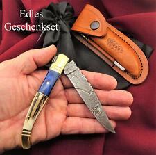 Taschenmesser-Damast taschenmesser-Handgeschmiedet Damastmesser LAGUIOLE T13