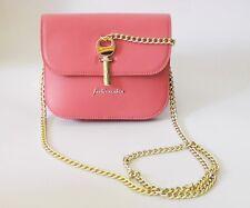 NWT TOPSHOP Amelia Mini Premium Leather Shoulder Bag, Pink, $140