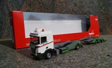"Herpa  310178  Scania CR 20 Niederdach LKW-Transporter-Hängerzug ""Hödlmayr"" (A)"