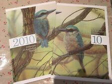 Collection of 2010 Australian Post Year Book Album with Stamps - Deluxe Edition