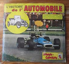 "Album Jeunesse-Collection  ""L'HISTOIRE DE L'AUTOMOBILE"" 356/426 images NO PANINI"