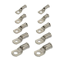 10X Crimp or Solder Battery Lug Terminals for 16mm Cable with 8mm Bolt Hole Tool