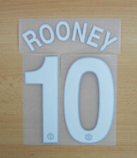 *09 / 10 ; MAN UTD HOME / NAME AND NUMBERED / ROONEY 10 = KIDS*