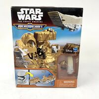 Star Wars The Force Awakens Micro Machines First Order Stormtrooper Playset READ