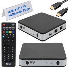 TVIP S-BOX v.605 IPTV 4K HEVC HD Multimedia Streamer Android 6.0 Stalker Portal