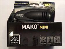 Niterider Mako Mini 50 Lumen headlight (AA battery included)  FREE SHIPPING