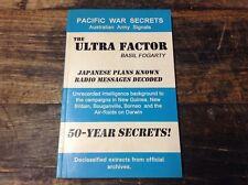 "BRT Rare Pacific War Secrets ""The Ultra Factor"" Basil Fogarty Military Scerets"